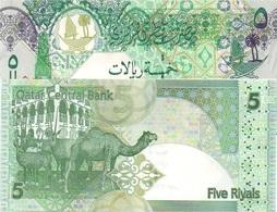 Qatar UNC, 5 Riyal Excellent Banknote - Qatar