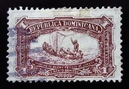 1899 République Dominicaine Mi 73 . Mendez Travelling From Jamaica To San Domingo - Dominicaine (République)