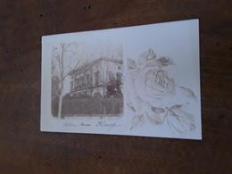 Cartolina Postale Fotografica  1900, Firenze Villa Cara - Firenze (Florence)