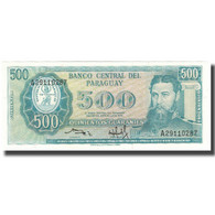 Billet, Paraguay, 500 Guaranies, KM:206, NEUF - Paraguay