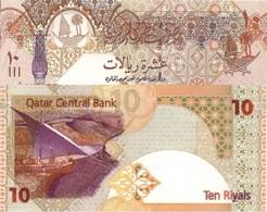 Qatar UNC, 10 Riyal Excellent Banknote - Qatar