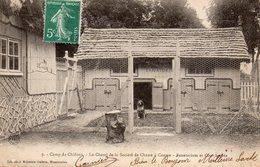 CPA    -    CAMP DE CHALONS   -  LE CHENIL DE LA SOCIETE DE CHASSE - Camp De Châlons - Mourmelon