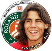 Pin Rafael Nadal Roland Garros 2014 9 Victoires Simple Homme - Tennis