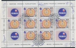 1993. Polska '93 - Kopernikusz Full Sheet - Ungarn