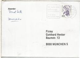 ALEMANIA CC CON MAT BOLSA DE TURISMO DE BERLIN 1992 - Vacaciones & Turismo