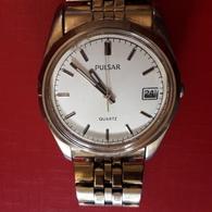 Montre PULSAR Y147- 810W Vintage Boitier Et Bracelet D'origine Acier, Fonctionne - Horloge: Luxe