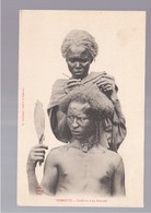SOMALIA Djibouti- Coiffure D'un Somalis OLD POSTCARD - Somalië