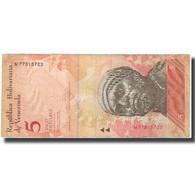 Billet, Venezuela, 5 Bolivares, 2011-02-03, TB - Venezuela