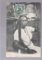 SOMALIA Djibouti- Type De Jeune Femme Somalis OLD POSTCARD - Somalië