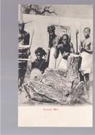 SOMALIA Somaly Men OLD POSTCARD - Somalië