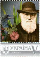 Ukraine 2018, Scientist-Naturalist Charles Darwin, 1v - Ukraine
