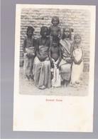 SOMALIA Somali Girls OLD POSTCARD - Somalië