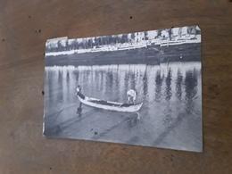 Cartolina Postale 1918, Firenze, Pescatori Sull'Arno - Firenze