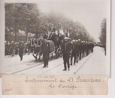 ENTERREMENT DE ST PRINCETEAU LE CORTÈGE  18*13CM Maurice-Louis BRANGER PARÍS (1874-1950) - Personalidades Famosas
