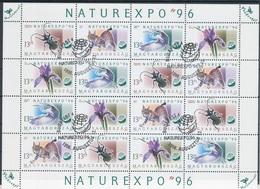 1996. NATUREXPO Full Sheet - Ungarn