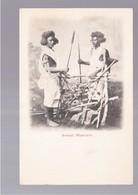 SOMALIA Somali Warriors OLD POSTCARD - Somalië