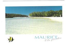 Mauritius - Ile Maurice - Lagon Limpide De L`Ile Aux Cerfs - Beach - Nice Stamp Timbre - Mauritius