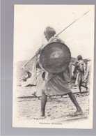 SOMALIA Guerrier Somalis  OLD POSTCARD - Somalië