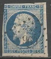 FRANCE - Oblitération Petits Chiffres LP 969 COSSE-LE-VIVIEN (Mayenne) - Marcofilie (losse Zegels)