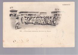 SOMALIA Djibouti - Fantasia Somalie Devant La Gare OLD POSTCARD - Somalië