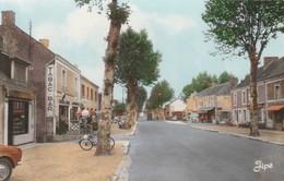 ARNAGE  -  Le Centre De La Rue Nationale - France