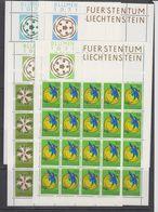Liechtenstein 1971 Blumen Aus Liechtenstein 4v Sheetlets ** Mnh (F7935) - Ongebruikt