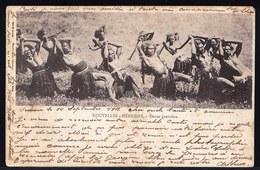 OCEANIE - OCEANIA - ** NOUVELLES HEBRIDES - Danse Guerrière ** Expédiée 1901 Vers Oosterzele - Vanuatu