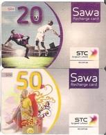 Saudi Arabia, SAWA Prepaid Phone Card, (SR 20&50) - Saoedi-Arabië