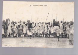 SOMALIA Djibouti - Danse Somali  OLD POSTCARD - Somalië