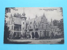 SCHOOTENHOF-lez-Anvers Château De Villers ( 4568 - Photo Hoelen Cappellen ) Anno 192? ( Zie/voir Foto 's ) ! - Schoten