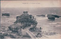 POSTAL FRANCIA - BIARRITZ - LE ROCHER DU BASTA - EDITION DE LA LIBRAIRE INTERNATIONALE - Biarritz