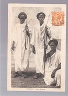 SOMALIA  Djibouti Types Somalis OLD POSTCARD - Somalië