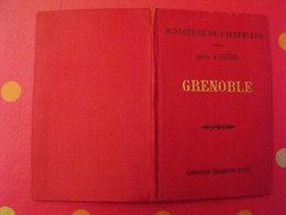 Carte D'état-major De Chateaulin (1/100000). Hachette 1891. Ministère De L'intérieur. Finistère Morbihan Quimper Pontivy - Cartes Topographiques