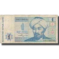 Billet, Kazakhstan, 1 Tenge, 1993, 1993, KM:7a, B+ - Kazakhstán