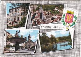 54. Gf. BADONVILLER. 4 Vues + Blason. 3 - Francia