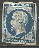 FRANCE - Oblitération Petits Chiffres LP 989 COUR-CHEVERNY (Loir & Cher) - Marcophilie (Timbres Détachés)