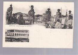 SOMALIA  Djibouti Cote Francaise Des Somalis OLD POSTCARD - Somalië