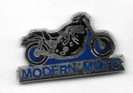 Pin' S  Média, MOTO  Bleu, MODERN ' MOTO  Magazine - Motos