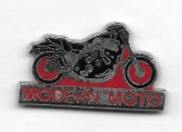 Pin' S  Média, MOTO  Rouge, MODERN ' MOTO  Magazine - Motos