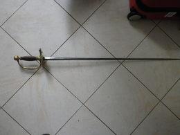 Epée Ancienne 18/19ème à Identifier - Messen