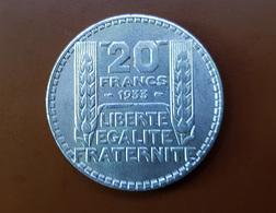 20 FRANCS 1933 - France