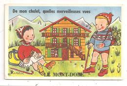 Le Nont -Dore- Carte à Systéme 10 Vues ---(D.1953) - Le Mont Dore