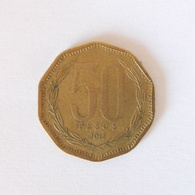 50 Pesos Münze Aus Chile Von 2013 (sehr Schön) - Chile