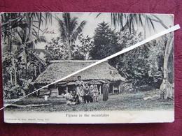 Fidji Fiji 1910 Fijians In The Mountains  écrite Et Timbrée - Fiji