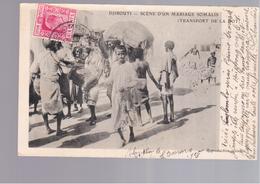 SOMALIA  Djibouti Scène D'un Mariage Somalis ( Transport De La Dot) OLD POSTCARD - Somalië