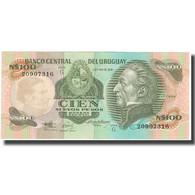 Billet, Uruguay, 100 Nuevos Pesos, KM:62a, NEUF - Uruguay