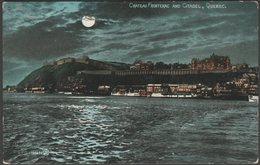 Château Frontenac And Citadel, Quebec, C.1910 - Valentine's Postcard - Québec - Château Frontenac