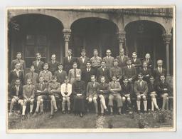Photo De Classe Gent Sint Barbara Collège 1943 Ste Barbe Gand Photographie Photo Véritable - Anonymous Persons