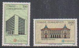 Europa Cept 1990 Turkey 2v  ** Mnh (43809) - 1990