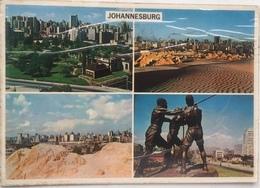 (251) Johannesburg - Miners' Statue - Vieuw From Crown Mine Dumps - The Hillbrow  - The Joubert Park - Afrique Du Sud